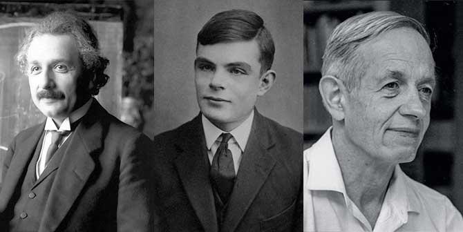 아인슈타인(왼쪽), 앨런 튜링(가운데), 존 내쉬(오른쪽)의 공통점은? 천재 외에도 바둑 마니아였다는 것이죠. - pixabay, wikipedia, 프린스턴대 제공