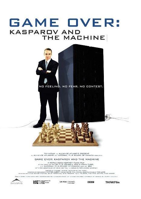 영화 게임 오버: 카스파로프와 기계 포스터 - THINKFilm 제공