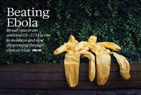 에볼라 감염 후 3일 만에 완쾌, 에볼라 치료제 나오나
