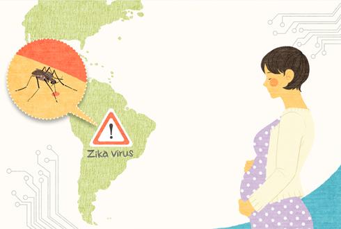한국인 첫 지카바이러스 환자 발생