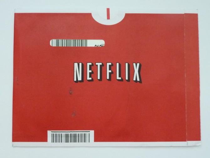넷플릭스의 DVD 배달 봉투
