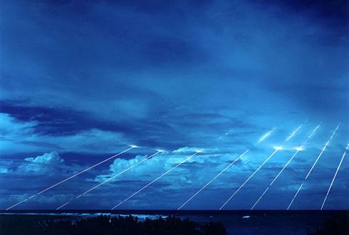 영화 같은 '미군 핵미사일 테스트 장면'
