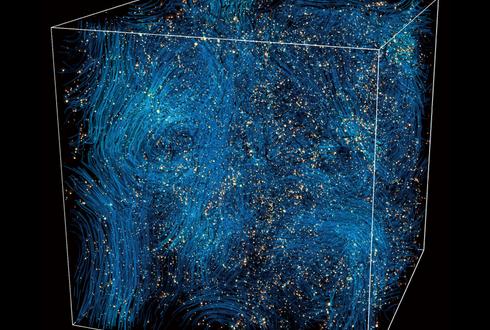 일반상대론 적용한 우주팽창 시뮬레이션 등장