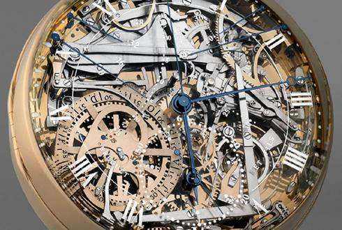 눈부신 예술품, 35억원짜리 시계