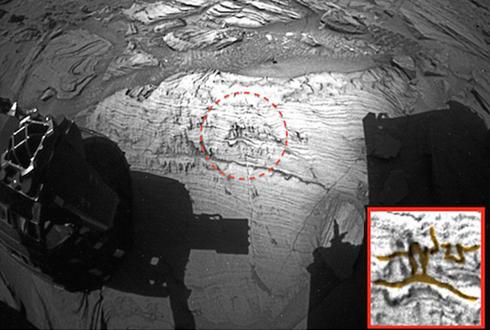 화성에서 발견한 그림? 동굴 벽화를 닮았다