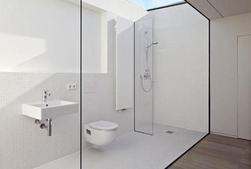 멋있지만... 모던한 투명 화장실