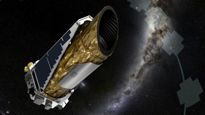 미국항공우주국(NASA)의 케플러우주망원경의 상상도. NASA는 7일(이하 현지시간)부터 최근 며칠간 '위급모드(EM)'로 운영됐던 케플러 우주선을 안정적인 상태로 회복시키는 데 성공했다고 11일 밝혔다.  - NASA 제공