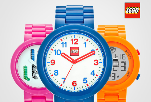 봄날 패션을 완성시켜줄 액세서리, 레고 손목 시계