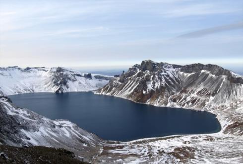 北 과학자들, 백두산 마그마 존재 입증 첫 국제논문 발표
