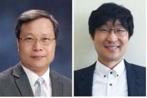 윤의준 교수(왼쪽)와 김선경 교수. - 서울대 제공