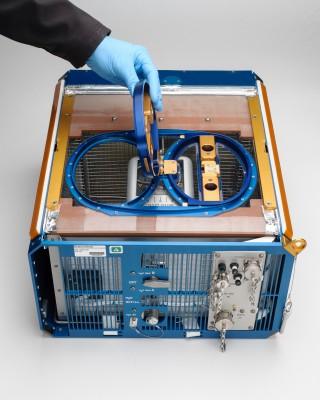 미국항공우주국(NASA) 에임스연구센터가 특수 제작한 생쥐 집. 우주공간에서 생쥐가 장기간 체류할 수 있도록 식량, 온도 조절계 등 다양한 장비를 갖췄다. - NASA 제공
