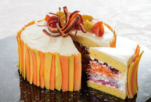 달콤할 것 같죠? 다이어트용 눈속임 케이크