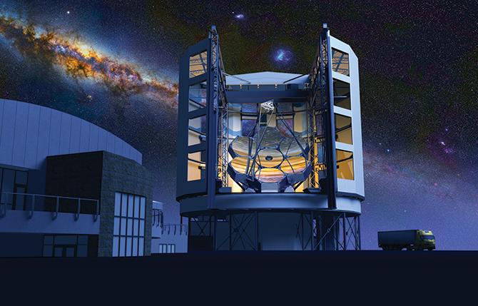 거대마젤란망원경 - GMT 제공