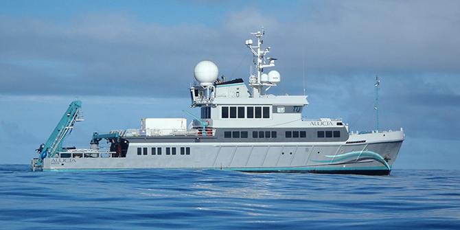 레이 달리오의 요트 - 해양 연구&보존 협회 제공