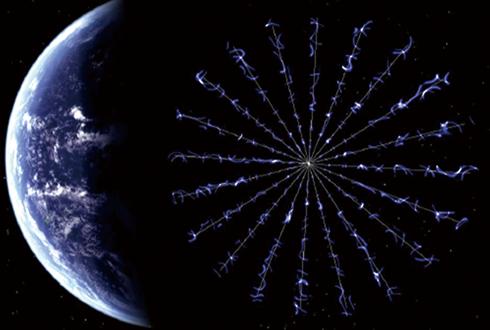 우주여행 전성시대? '솔라 세일'에 맞서는 전자기장 돛단배