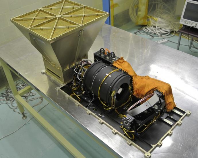 UFFO-패스파인더 우주망원경의 실제 모습. - 미래부 제공