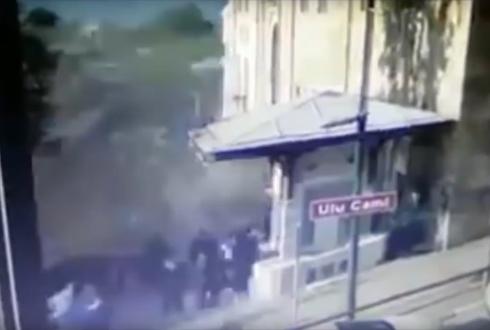 20대 여성의 '자살 폭탄 테러' 장면 촬영돼
