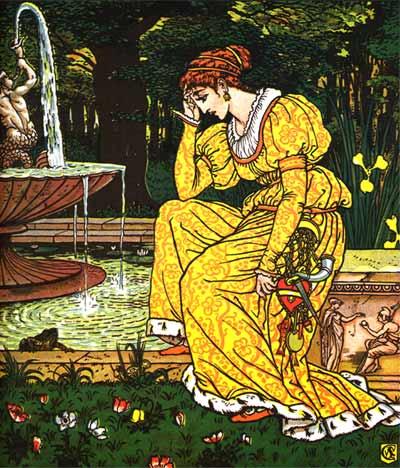 그림 형제, 개구리 왕자와 다른 이야기들(월터 크래인 편) - The Frog Prince and other stories, by Walter Crane (1874) 제공