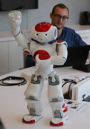 한국IBM 사무실에서 만난 로봇