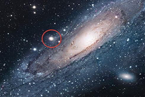 거대 블랙홀 품은 꼬마 은하