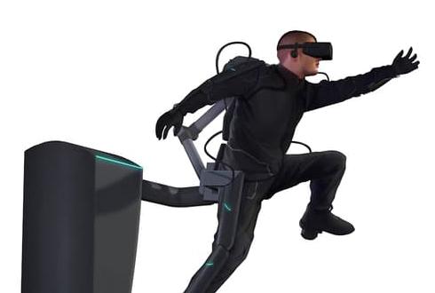 가상현실과 외골격 로봇을 결합하면?