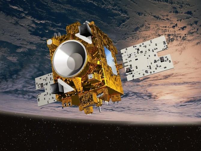 프랑스국립우주연구센터(CNES)가 지난달 발사한 자유낙하 실험 위성 '마이크로스코프(MicroSCOPE)'. - 프랑스국립우주연구센터 제공