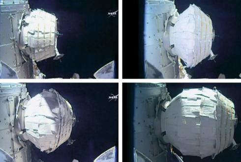 국제우주정거장(ISS)에 민간이 만든, 민간을 위한 공간 생겼다