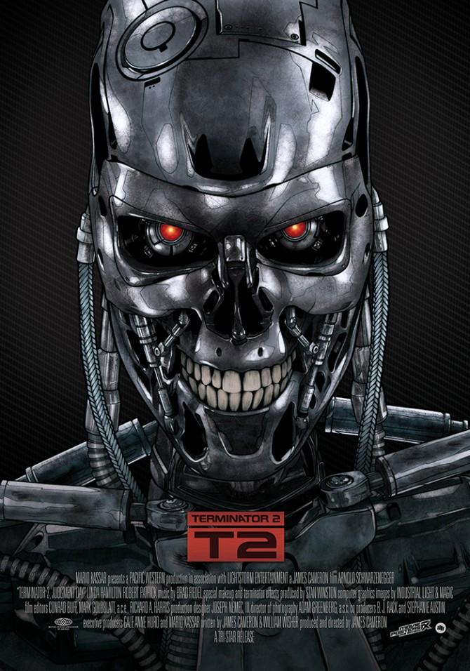 터미네이터2에 등장하는 Cyberdyne의 T-1000 - 드림팩트 엔터테인먼트  제공