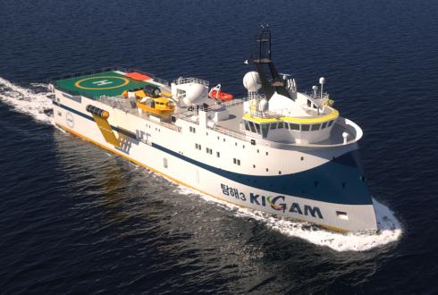 석유·가스 찾아 세계 누비는 '5000t급' 탐사선 새로 만든다