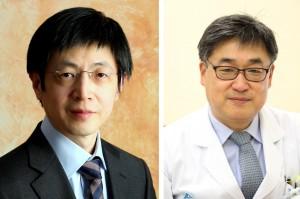 김진수 교수(왼쪽)와 이상욱 교수(오른쪽). 제공