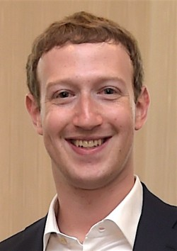 마크 주커버그 페이스북 창업자 - 위키미디어 제공