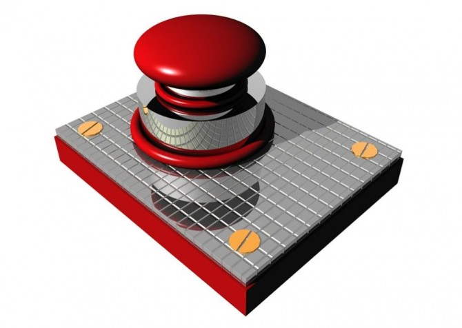 푸시(push)형 버튼 - pixabay 제공