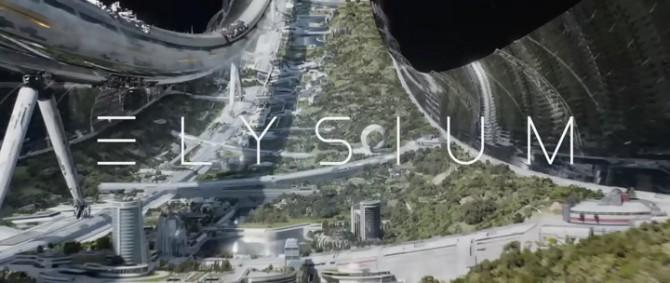 최상위 소득 계층만이 살게 되는 영화 엘리시움 속 우주 정거장 - 소니픽쳐스 릴리징 월트디즈니 스튜디오스 코리아(주) 제공
