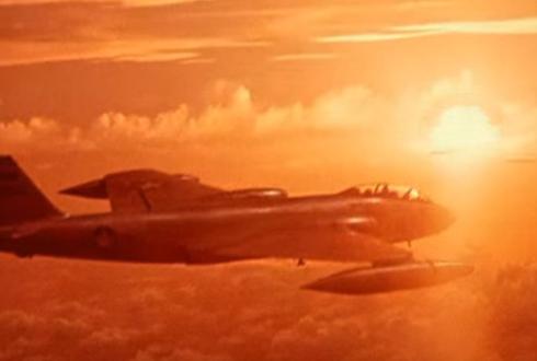 미군의 핵폭탄 실험 장면 '화제'
