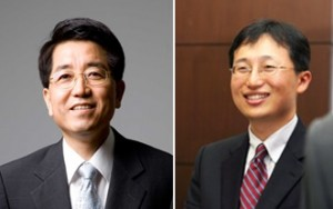현택환 단장(왼쪽)과 김대형 연구위원. - 기초과학연구원(IBS) 제공