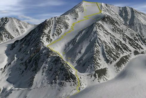美 북극권에서 가장 높은 산은?