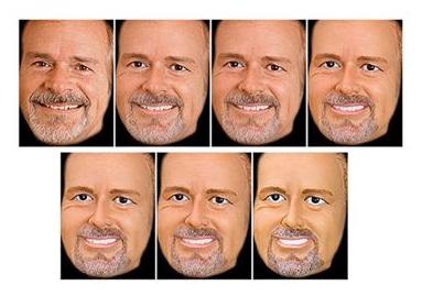 플라스틱 피부에 주름이 없고 만화처럼 큰 눈을 갖고 있는 인형 얼굴을 인간의 얼굴과 섞어 보여줄 경우, 뇌 속에서 이들을 인간의 얼굴로 인식하는지 여부는 당파적 관점에 큰 영향을 받게 됩니다. - 뉴욕대 제공
