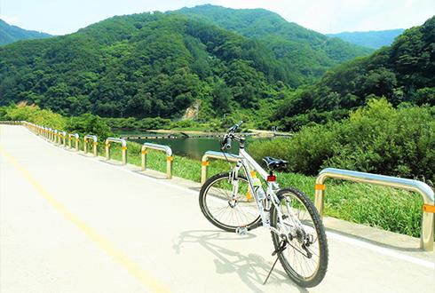[화천 여행] 나를 위한 시간, 파로호 산소100리길 자전거 여행