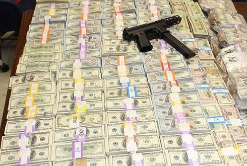 '270억원 현금 돈더미 발견돼'