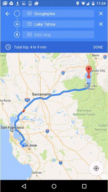 구글 지도 블로그 제공