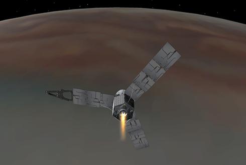 목성궤도 탐사선 주노(JUNO), 5일 낮 목성 궤도 성공적 안착