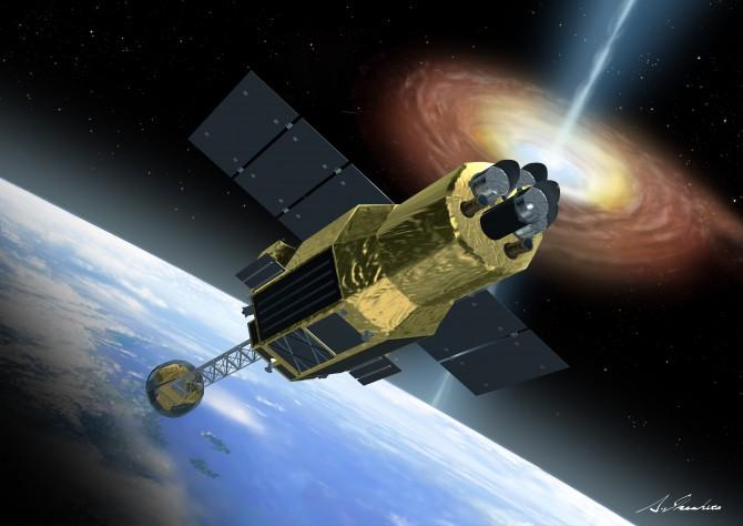 일본은 우주 탄생과 진화의 비밀을 밝히기 위해 올해 2월 X선 천체 관측 위성 '히토미(아스트로-H)'를 쏘아 올렸지만, 히토미는 한 달 만에 파손됐다. - 일본 우주항공연구개발기구(JAXA) 제공