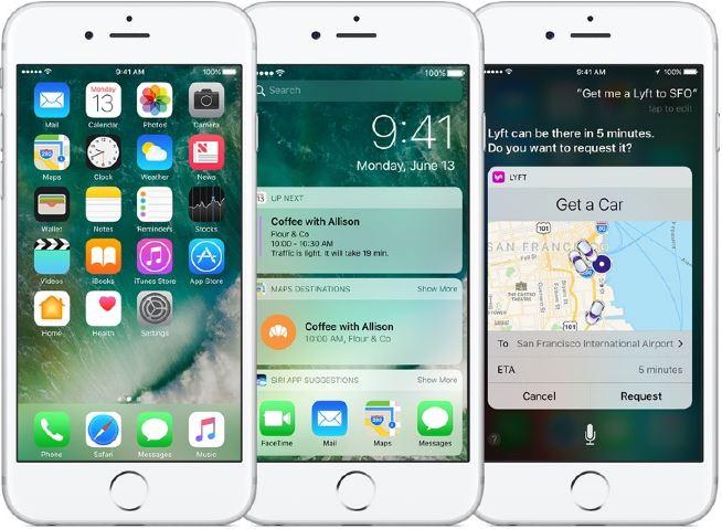 아이폰 iOS 10 운용체계 - 맥루머스 제공