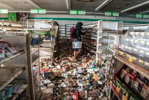 후쿠시마에 몰래 들어가 촬영한 사진들