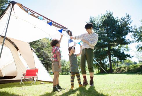 너도나도 캠핑 전성시대! 이런 텐트 괜찮아요?