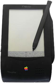 애플의 PDA 뉴튼 - 위키피디아 제공