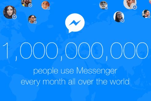 [캐치 업! 페이스북 (4)] 메신저로 세계 정복? 사용자 10억명 돌파