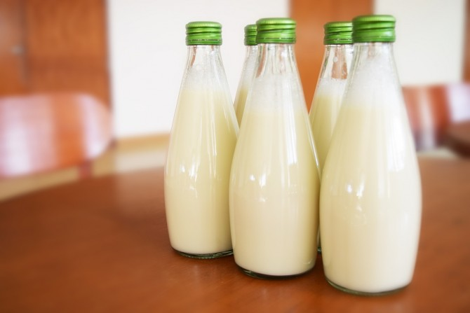 우유와 함께 망고를 먹으면 더욱 건강한 섭취가 가능하다 - pixabay 제공