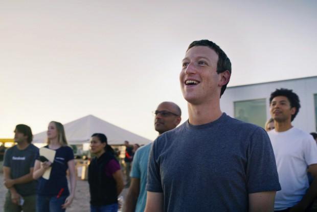 마크 저커버그 페이스북 CEO와 페이스북 직원들이 인터넷 보급을 위해 개발한 드론