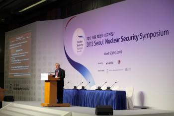 2012 핵안보정상회의는 KINAC의 가장 중요한 성과 중 하나다. - (주)동아사이언스 제공